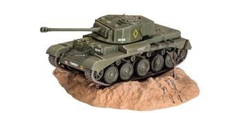 Revell Panzer A-34 Comet MK.1 1:76 Kit Plastik