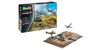 Revell 75 Years D-Day Set 1:72 Kit Plastik