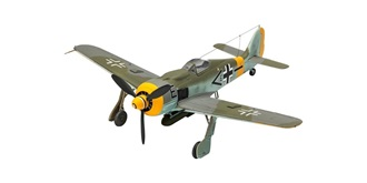 REVELL Focke Wulf Fw190 F8 1:72 KIT Plastik