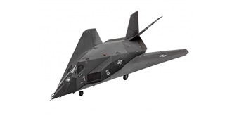 REVELL F-117A Stealth Fighter 1:72 Kit Plastik