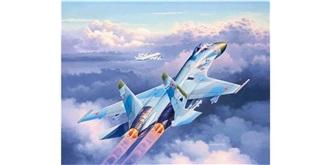 REVELL Suchoi Su-27 Flanker 1:144 Kit Plastik
