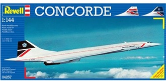 REVELL Concorde Air France 1:144 Kit Plastik