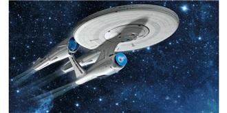 REVELL StarTrek USS Enterprise 1:500 Kit Plastik