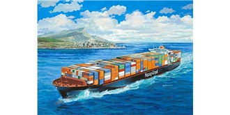 REVELL Colombo Express ContainerShip 1:700 Kit P..