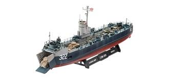 REVELLUS Navy Landing Ship Medium 1:144 Kit Plas..