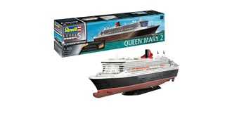 REVELL Queen Mary 2 PLATINUM Edition 1:400 Kit P..