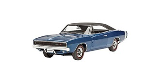 REVELL Dodge Charger R/T '68 1:24 Kit Plastik