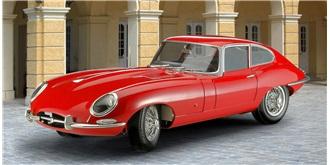 REVELL Jaguar E-Type Coupé 1:24 Kit Plastik