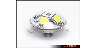 Unilight 24Wx3 Round Power Strobe 24mm (ACG konf..