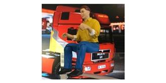 LKW Fahrerfigur Mann 1:14