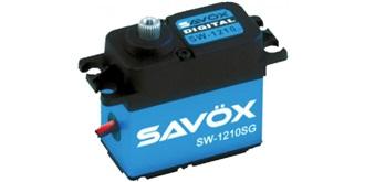 Servo Savox SW-1210SG 7,4V 32kg / 0.13 / 41x21x4..