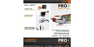UniLight PRO-Small Beleuchtungsset, ver.2