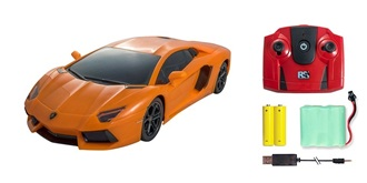 RC Car Lamborghini Aventador 700-4 orange 1:24 RTR
