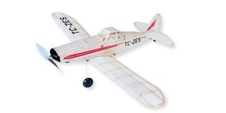 Freiflug Pawnee PA-25 540mm Gummimotor Kit Holz