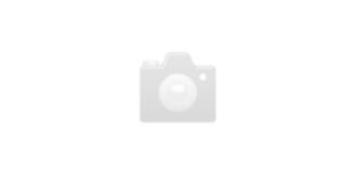 SIVA Clocks Car Bulli weiss/schwarz