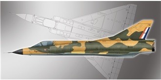 PM Model Dassault Mirage III 1:72 Kit Plastik