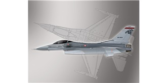 PM Model F-16 Fighting Falcon 1:72 Kit Plastik