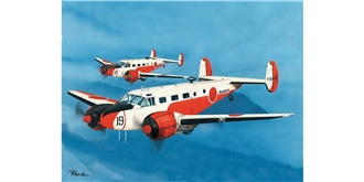 PM Model Beechcraft SNB-4/5 1:72 Kit Plastik