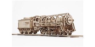 UGEARS Dampflokomotive Holzkit