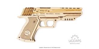 UGEARS Wolf-01 Handfeuerwaffe Holzkit
