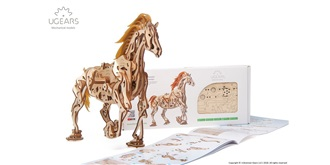 UGEARS Mecanical Pferd (Horse) Holzkit