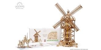 UGEARS Windmühle Holzkit