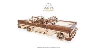 UGEARS Traum Cabriolet VM-05 Holzkit