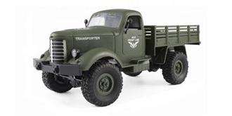 RC Truck Military 4WD grün 1:16 RTR