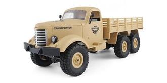 RC Truck Military 6WD dessert gelb 1:16 RTR