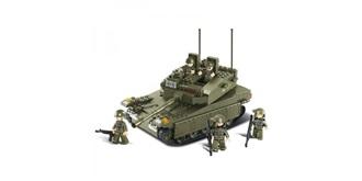 Bausteine Sluban Kampfpanzer Army