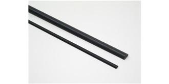 CA-5  Carbon halbrund  3 x 1,5 mm l=1.0m