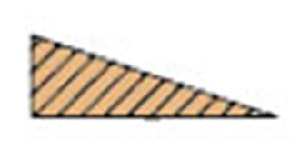 HO-3  Balsa Endleiste  6 x25 mm l=1.0m