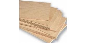 Pappel-Sperrholz  5,0mm  300x600mm