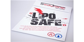 Swaytronic LiPo SAFE-BAG weiss