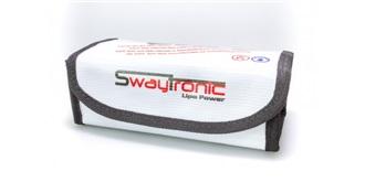 Swaytronic LiPo Box S weiss 185x75x60mm