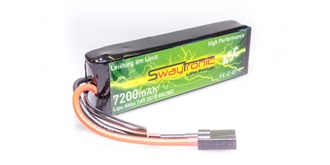 Sway-TRX LiPo 2S 7.4V 7200mAh 45C/90C TRX