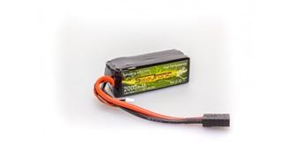 Sway-TRX LiPo 3S2P 11.1V 2000mAh 45C/90C TRX