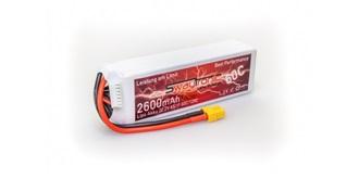 Swaytronic LiPo 6S 22.2V 2600mAh 60C/120C XT60