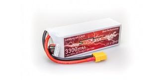 Swaytronic LiPo 6S 22.2V 3300mAh 60C/120C XT90