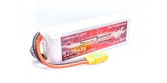 Swaytronic LiPo 4S 14.8V 5200mAh 60C/120C XT90