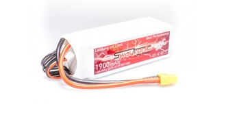 Swaytronic LiPo 6S 22.2V 1900mAh 50C/100C XT60