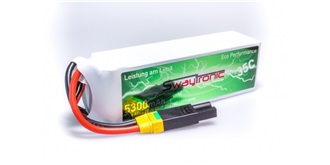 Sway-AM LiPo 6S 22.2V 5000mAh 35C/70C EC5