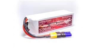 Sway-AM LiPo 6S 22.2V 5200mAh 60C/120C EC5