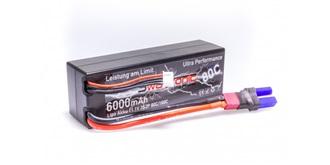 Sway-AM HC LiPo 3S 11.1V 6000mAh 80C/160C EC5