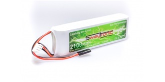 Swaytronic LiFePO4 2S 6.6V 2100mAh 20C/40C JR