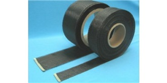 Carbon-GewebeBand 125gm²  25mm x 1m
