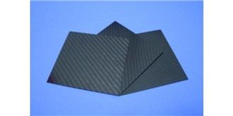 Platte Carbon-Prepreg 1,0mm  150x340mm