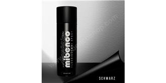 mibenco Flüssiggummi Spray schwarz matt 400ml