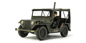 U.S. Jeep M151A1 Vietnam War 1:35 Kit Plastik
