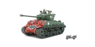 Tamiay Panzer Sherman M4A3E8 1:35 Kit Plastik